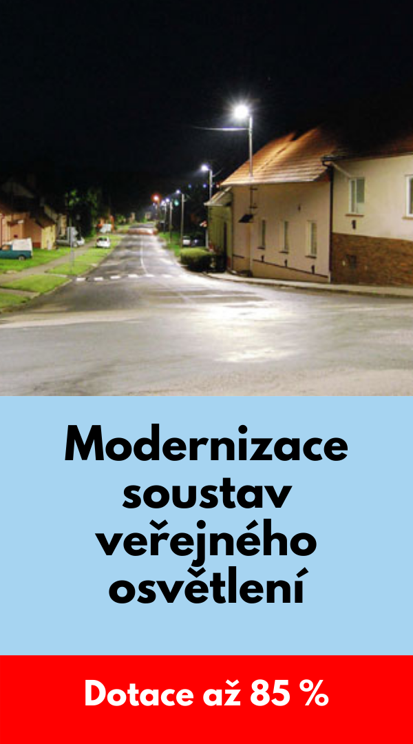 Modernizace soustav veřejného osvětlení